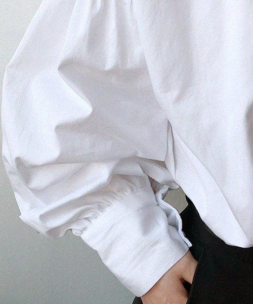 NANING9(ナンニング)/NANING9(ナンニング)バルーン袖シャツ/ng-18b-016_img01