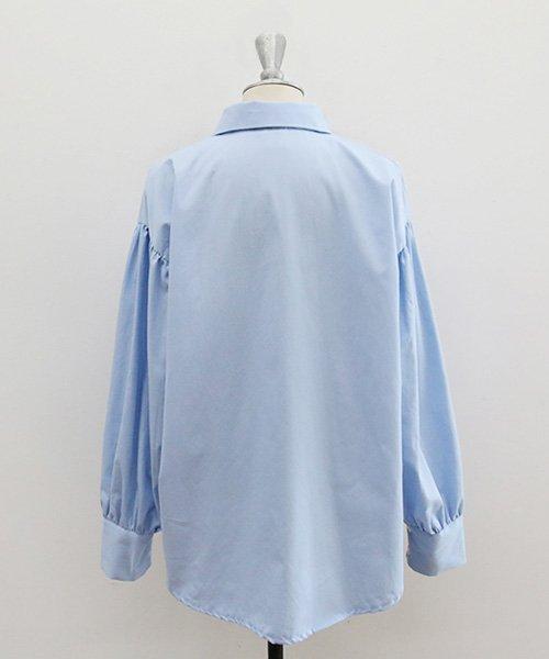 NANING9(ナンニング)/NANING9(ナンニング)バルーン袖シャツ/ng-18b-016_img09