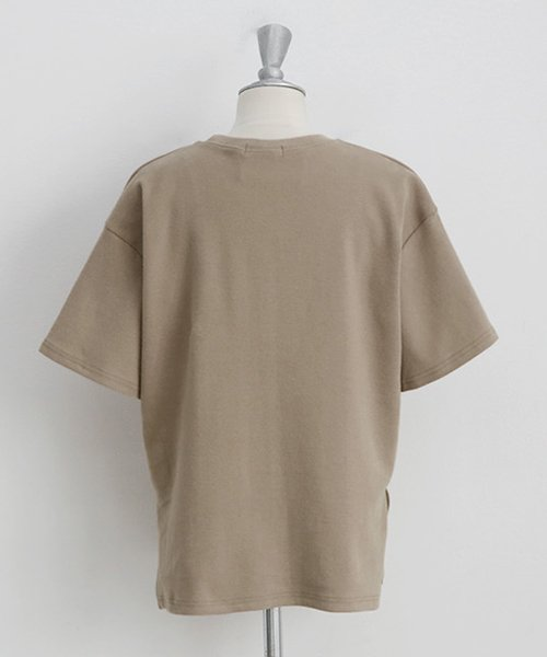 NANING9(ナンニング)/NANING9(ナンニング)コットン無地Tシャツ/ng-19t-010-z_img06