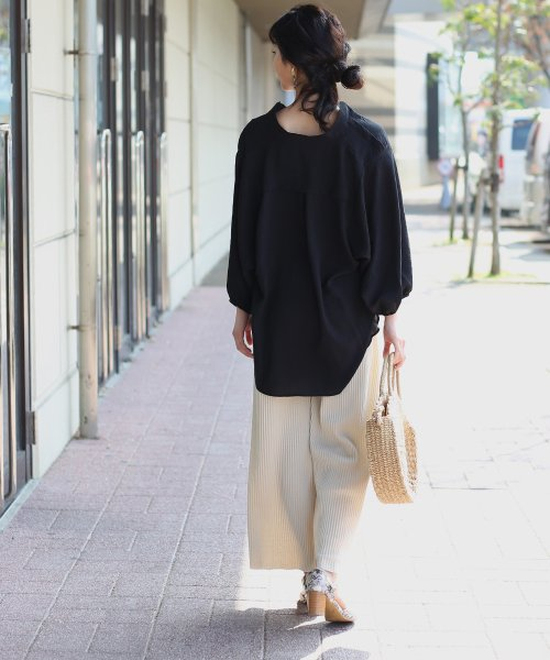 Bou Jeloud(ブージュルード)/◆ビッグシルエットが可愛い◆抜け衿ゆるカラービッグシャツ/691995_img06