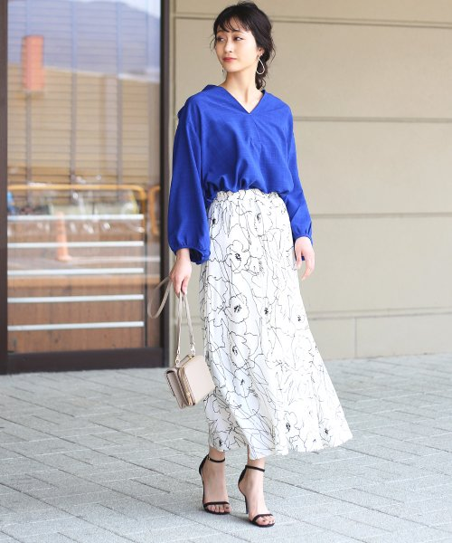 Bou Jeloud(ブージュルード)/◆ビッグシルエットが可愛い◆抜け衿ゆるカラービッグシャツ/691995_img07