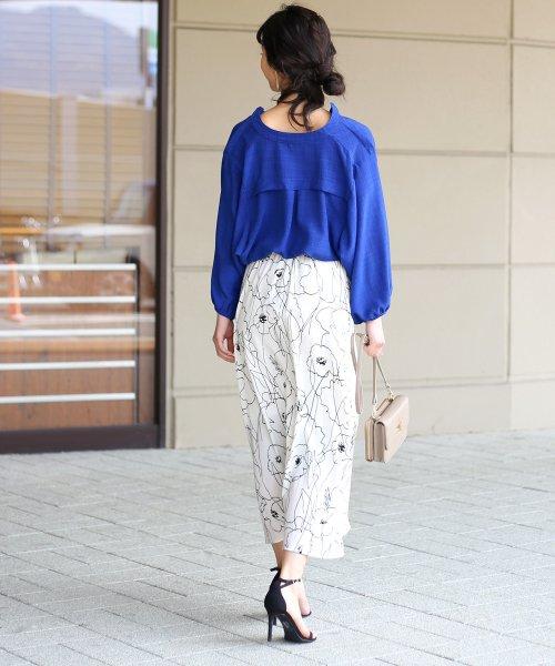 Bou Jeloud(ブージュルード)/◆ビッグシルエットが可愛い◆抜け衿ゆるカラービッグシャツ/691995_img09
