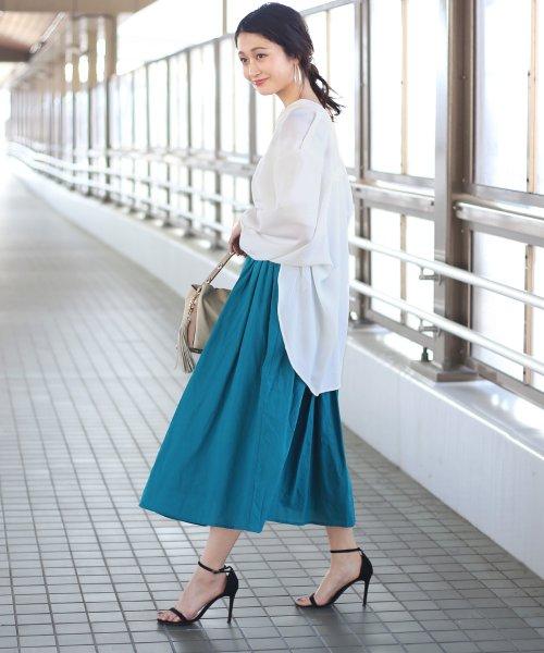 Bou Jeloud(ブージュルード)/◆ビッグシルエットが可愛い◆抜け衿ゆるカラービッグシャツ/691995_img14