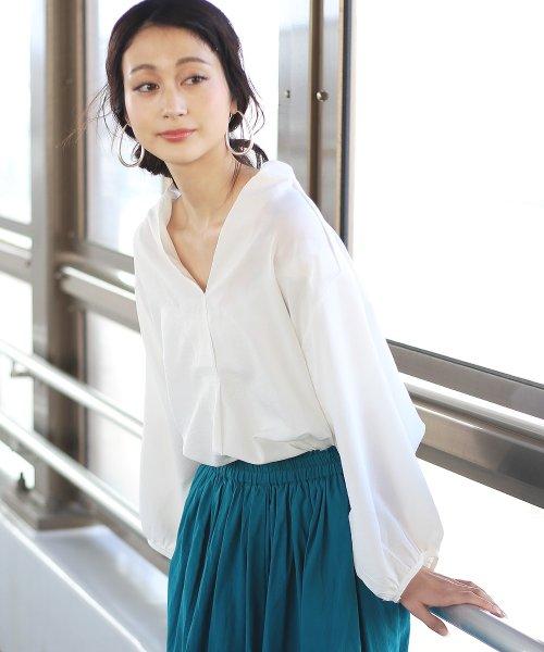 Bou Jeloud(ブージュルード)/◆ビッグシルエットが可愛い◆抜け衿ゆるカラービッグシャツ/691995_img15