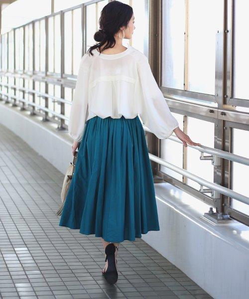 Bou Jeloud(ブージュルード)/◆ビッグシルエットが可愛い◆抜け衿ゆるカラービッグシャツ/691995_img16