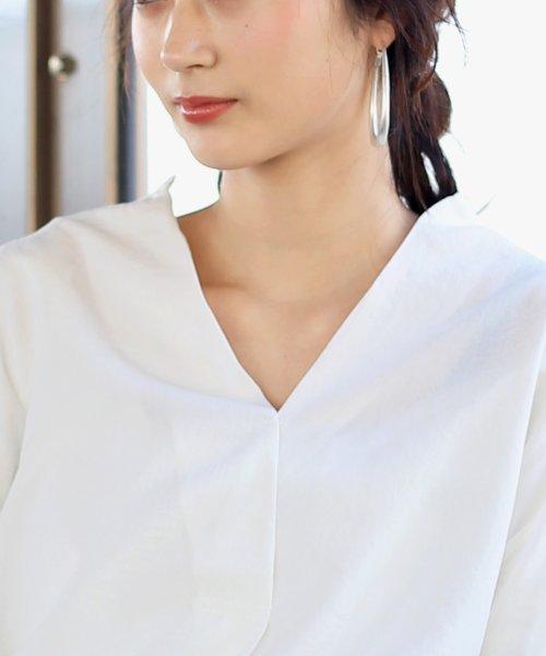Bou Jeloud(ブージュルード)/◆ビッグシルエットが可愛い◆抜け衿ゆるカラービッグシャツ/691995_img17