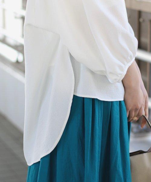 Bou Jeloud(ブージュルード)/◆ビッグシルエットが可愛い◆抜け衿ゆるカラービッグシャツ/691995_img19