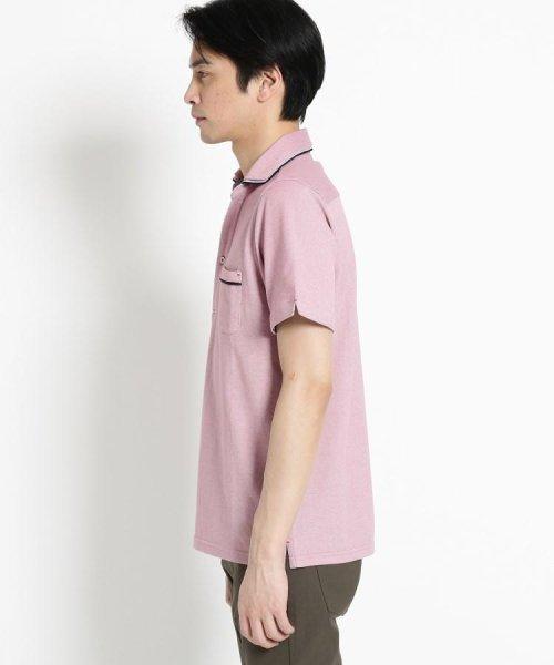 THE SHOP TK(ザ ショップ ティーケー)/【親子おそろい】パイピングポロシャツ/20190161636701_img02