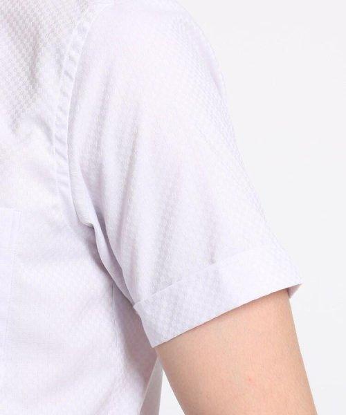 THE SHOP TK(ザ ショップ ティーケー)/【抗菌・防臭】ポリジン市松ドビー半袖シャツ/20190161686501_img05