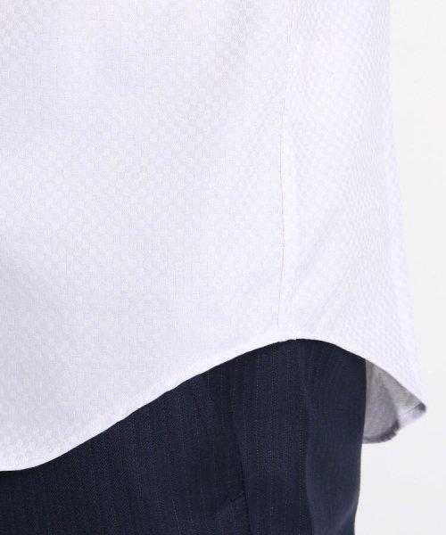 THE SHOP TK(ザ ショップ ティーケー)/【抗菌・防臭】ポリジン市松ドビー半袖シャツ/20190161686501_img06