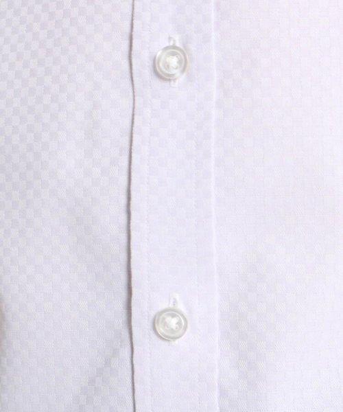 THE SHOP TK(ザ ショップ ティーケー)/【抗菌・防臭】ポリジン市松ドビー半袖シャツ/20190161686501_img07