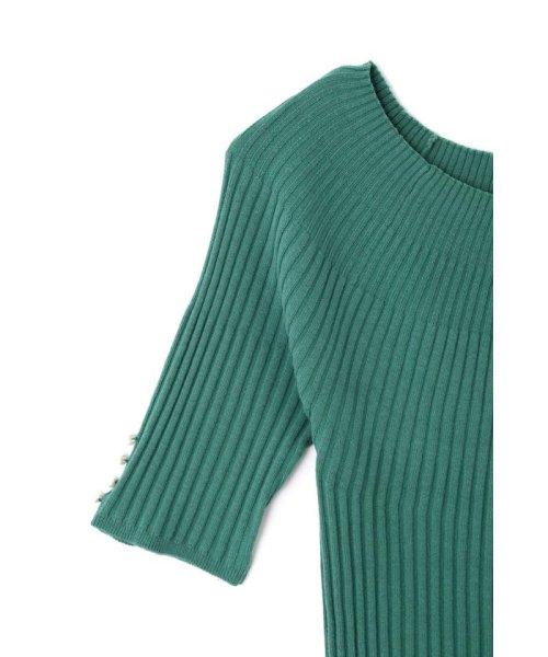 PROPORTION BODY DRESSING(プロポーション ボディドレッシング)/2Way袖パールボートニット/1219170404_img19