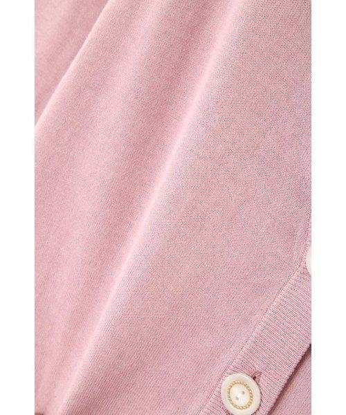 PROPORTION BODY DRESSING(プロポーション ボディドレッシング)/【美人百花5月号掲載】キラ釦Vネックカーディガン/1219174401_img11