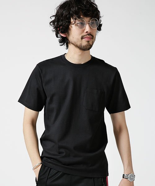nano・universe(ナノ・ユニバース)/Anti Soaked ヘビークルーネックTシャツ/6689124007_img07