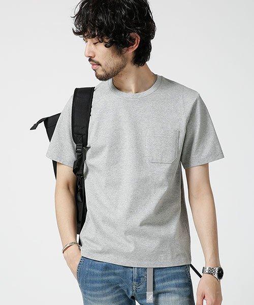 nano・universe(ナノ・ユニバース)/Anti Soaked ヘビークルーネックTシャツ/6689124007_img08