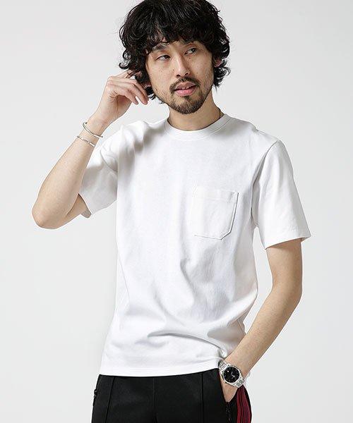 nano・universe(ナノ・ユニバース)/Anti Soaked ヘビークルーネックTシャツ/6689124007_img09