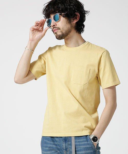 nano・universe(ナノ・ユニバース)/Anti Soaked ヘビークルーネックTシャツ/6689124007_img10