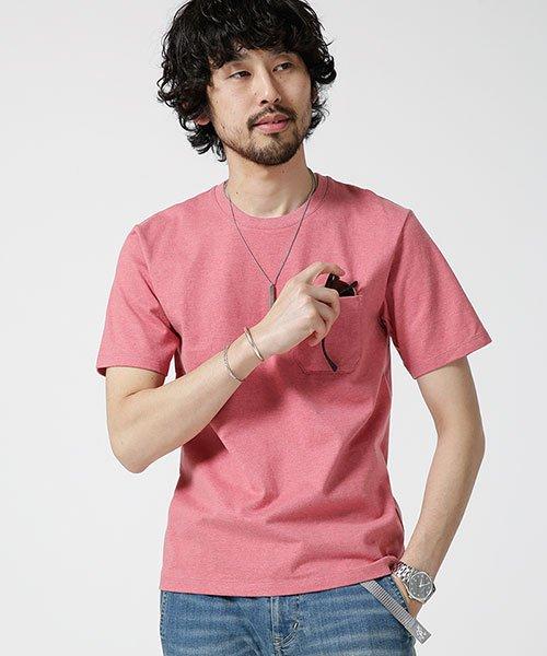 nano・universe(ナノ・ユニバース)/Anti Soaked ヘビークルーネックTシャツ/6689124007_img11