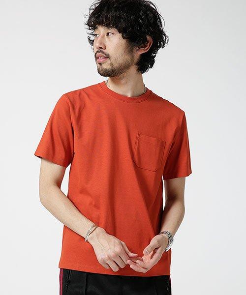 nano・universe(ナノ・ユニバース)/Anti Soaked ヘビークルーネックTシャツ/6689124007_img14