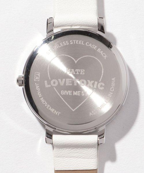 Lovetoxic(ラブトキシック)/ロゴ型押し腕時計/8391506_img04