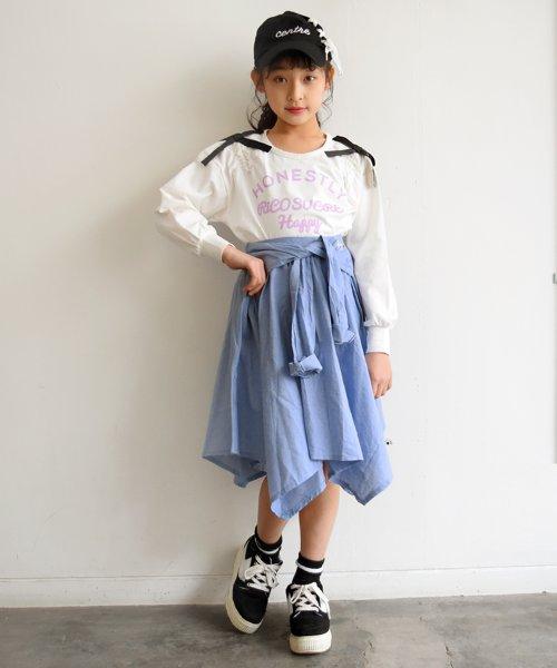 RiCO SUCRE(リコ シュクレ)/シャツ風スカート/RCSK92921_img03