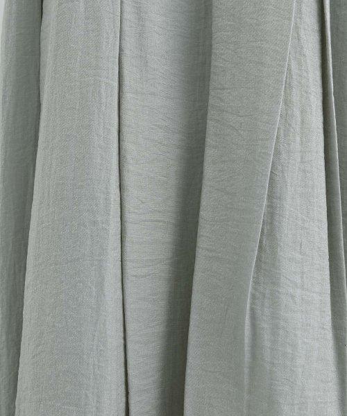 merlot(メルロー)/【plus】レーヨン混バルーンスリーブフリル襟ワンピース/00010012-878210007572_img12