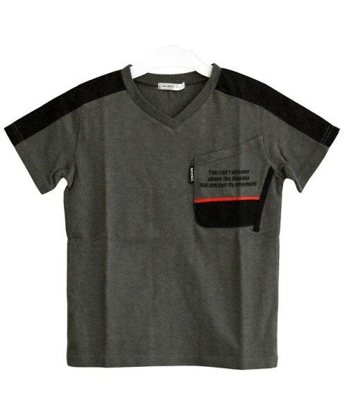 RAT EFFECT(ラット エフェクト)/切替ポケットTシャツ/RTS92403_img01