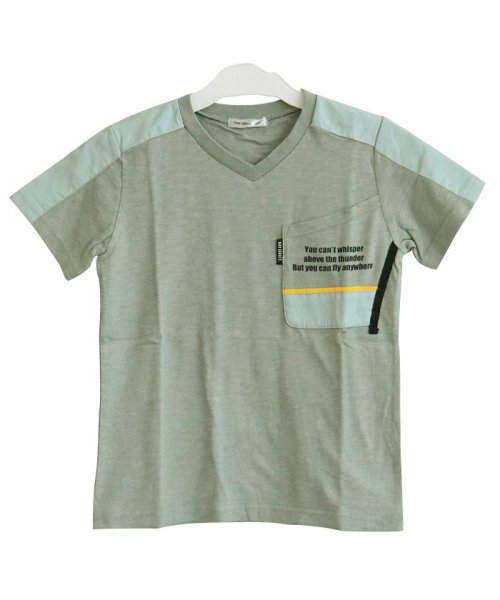 RAT EFFECT(ラット エフェクト)/切替ポケットTシャツ/RTS92403_img02