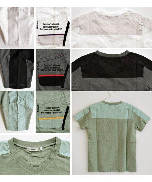 RAT EFFECT(ラット エフェクト)/切替ポケットTシャツ/RTS92403_img06