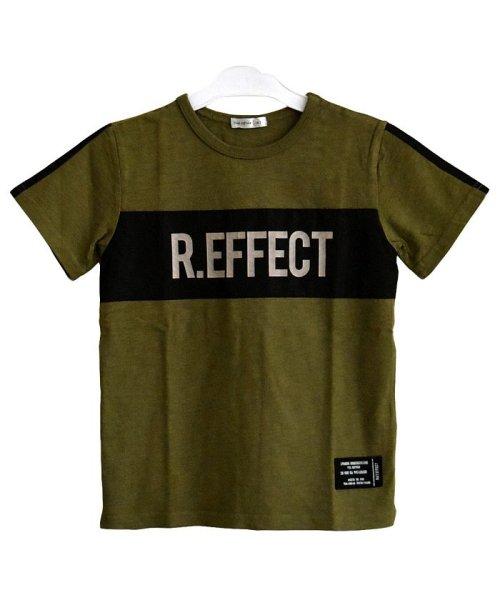 RAT EFFECT(ラット エフェクト)/リフレクタープリントナイロン切替Tシャツ/RTS92407_img02