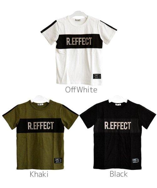 RAT EFFECT(ラット エフェクト)/リフレクタープリントナイロン切替Tシャツ/RTS92407_img05