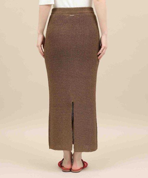 ROPE' mademoiselle(ロペ マドモアゼル)/和紙混ロングニットタイトスカート/GWC29050_img05
