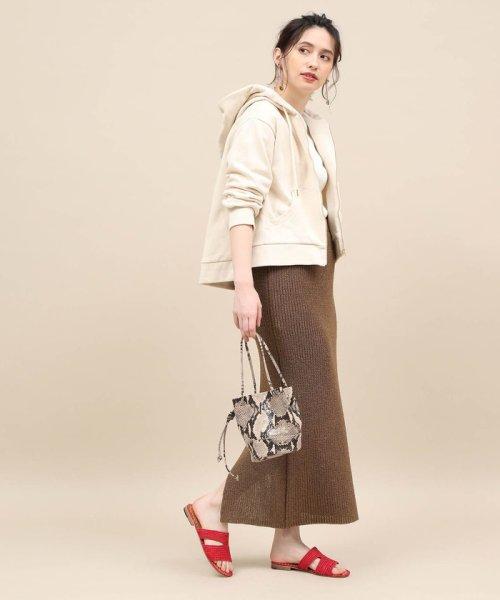 ROPE' mademoiselle(ロペ マドモアゼル)/和紙混ロングニットタイトスカート/GWC29050_img13