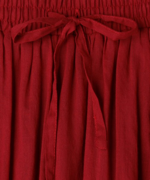 coen(コーエン)/【『リンネル』6月号掲載・2WAY】インディアンコットンリバーシブルスカート ( フレアスカート ティアードスカート )/76706039005_img30