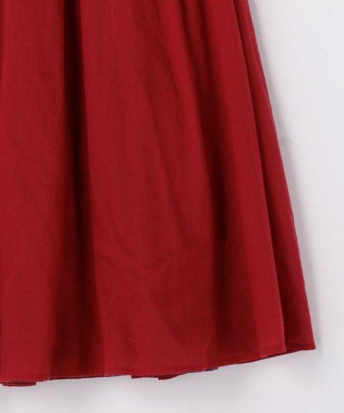 coen(コーエン)/【『リンネル』6月号掲載・2WAY】インディアンコットンリバーシブルスカート ( フレアスカート ティアードスカート )/76706039005_img31
