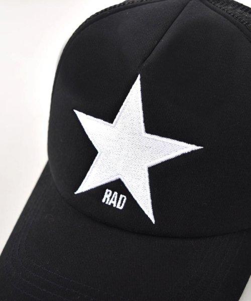 RAD CUSTOM(ラッドカスタム)/【カタログ掲載】星刺繍メッシュキャップ/163412502_img08