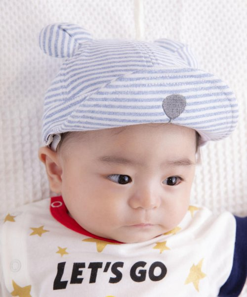 e-baby(イーベビー)/フライスボーダーミミ付きキャップ/183412559_img12