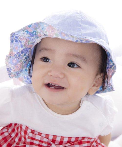 e-baby(イーベビー)/シャンブレーフラワープリントチューリップハット/183412571_img08