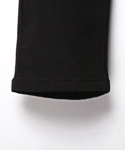 LUXSTYLE(ラグスタイル)/ブラックデニムダメージパンツ/デニムパンツ メンズ スキニー ブラック ダメージ ストレッチ/pm-8102_img14