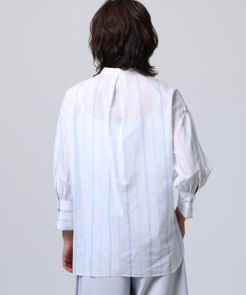 UNTITLED(アンタイトル)/[L]袖ギャザーバンドカラーシャツ/20190115386963_img03