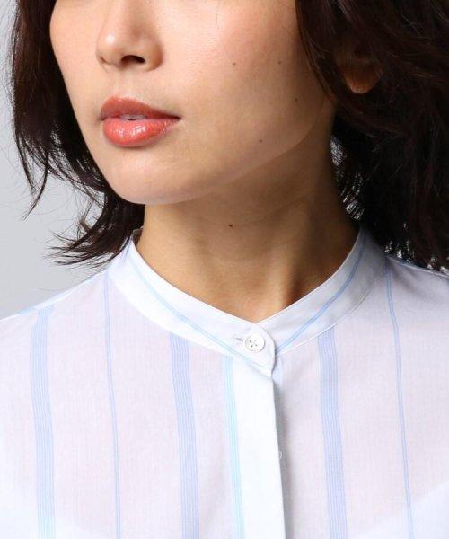 UNTITLED(アンタイトル)/[L]袖ギャザーバンドカラーシャツ/20190115386963_img04