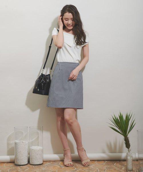 Noela(ノエラ)/【Ray6月号掲載】リバーシブル台形スカート/5932011_img01