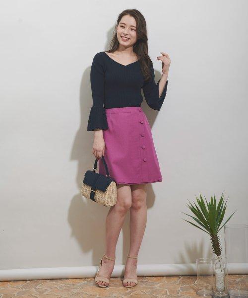 Noela(ノエラ)/【Ray6月号掲載】リバーシブル台形スカート/5932011_img02