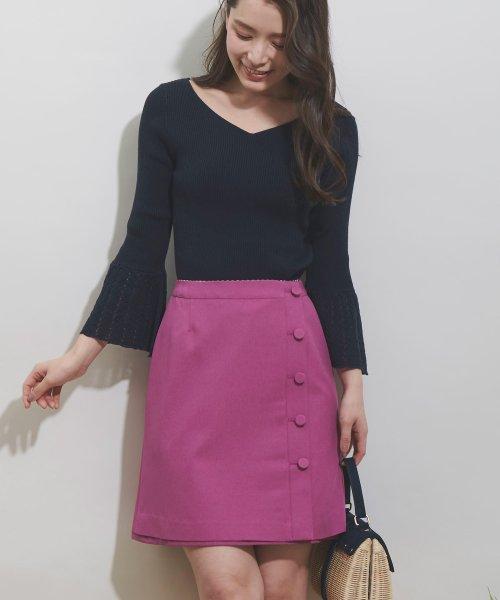 Noela(ノエラ)/【Ray6月号掲載】リバーシブル台形スカート/5932011_img04