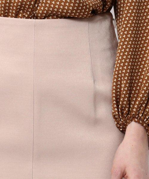 Ballsey(Ballsey)/マットサテン Iラインスカート/11059205303_img10