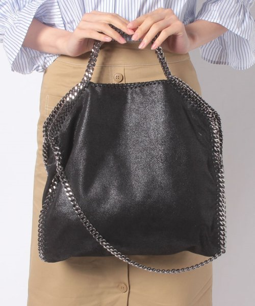 Stella McCartney(ステラマッカートニー)/【STELLA McCARTNEY】トートバッグ/3 CHAIN SHAGGY DEER FALABELLA【BLACK】/234387W91321000_img06