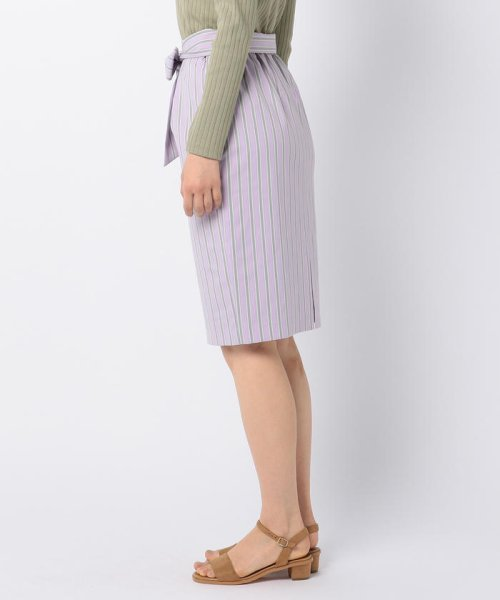 fredy emue(フレディエミュ)/ストライプリボンスカート/9-0316-1-26-006_img03