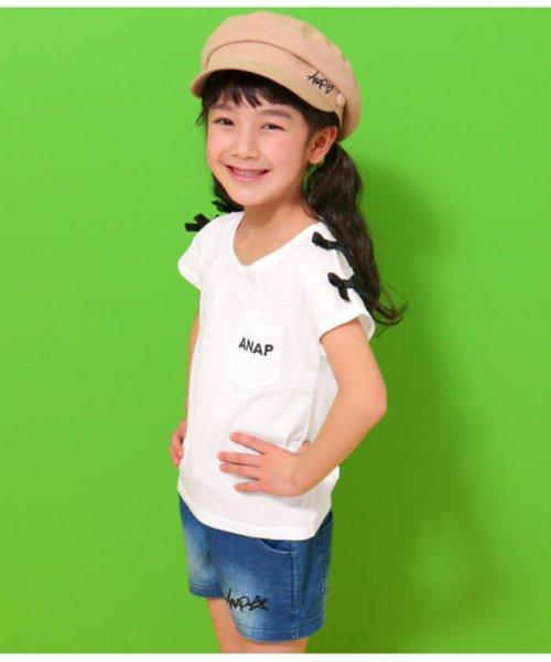 ANAP KIDS(アナップキッズ)/肩リボンポケット付トップス/0437300009_img05