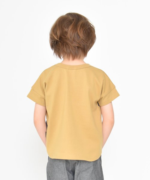 branshes(ブランシェス)/ワイドボーダー切替半袖Tシャツ(90~150cm)/119206393_img06
