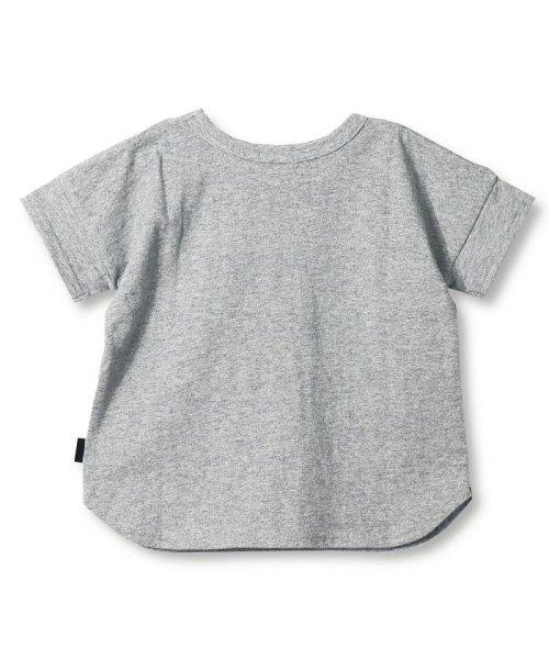 branshes(ブランシェス)/ワイドボーダー切替半袖Tシャツ(90~150cm)/119206393_img07